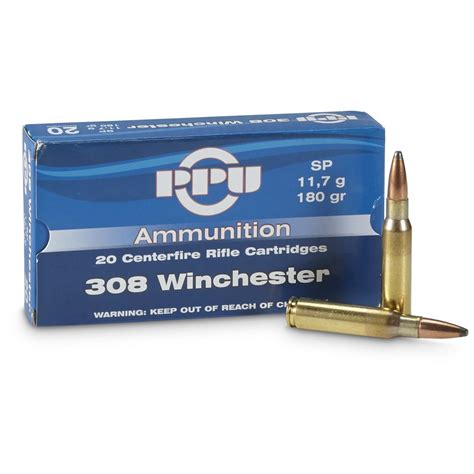 308 Ppu Ammo For Sale And 308 Winchester Ammo On Sale Neat