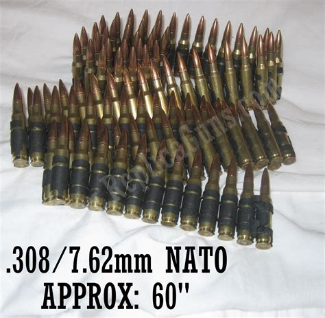 308 Ammo Belt Replica