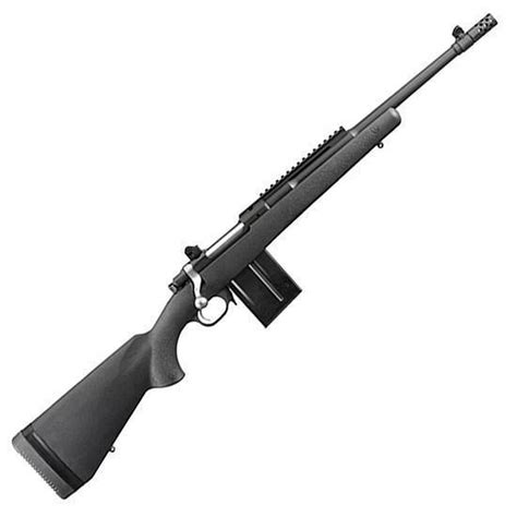 308 Bolt Action Rifle With Bull Barrel