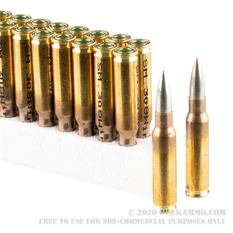 308 Bulk Ammo 1000 Rounds