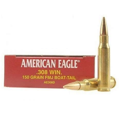 308 Federal American Eagle 150 Grain Fmj Ammo Ae308d