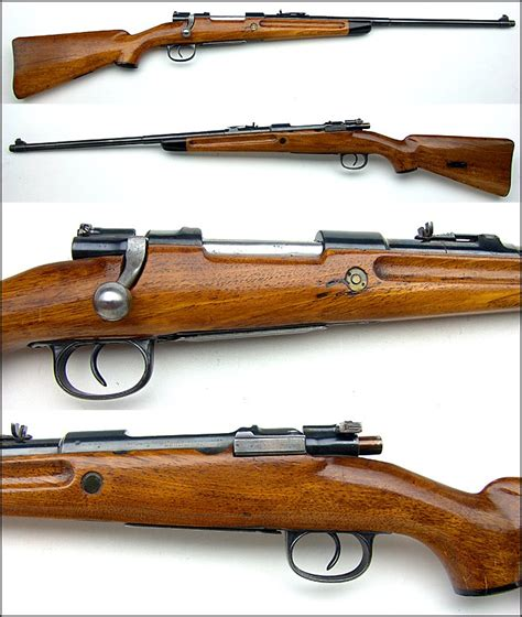 308 Rifle With Mauser Action