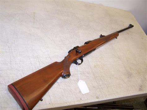 308 Rifle With Open Sights