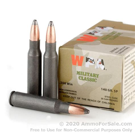 308 Soft Point Bulk Ammo