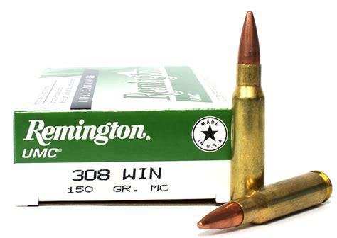 308 Win 150 Grain Fmj Remington Umc Ammo