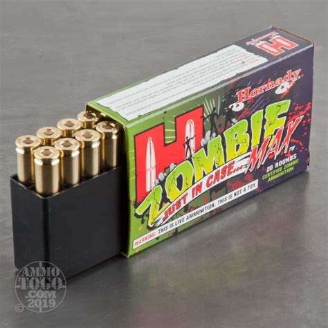 308 Win Hornady Zombie Max 168gr Zmax Ammo Ammo To Go