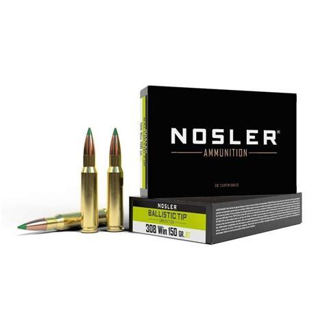308 Winchester Nosler Bullets Brass Ammunition Rifles