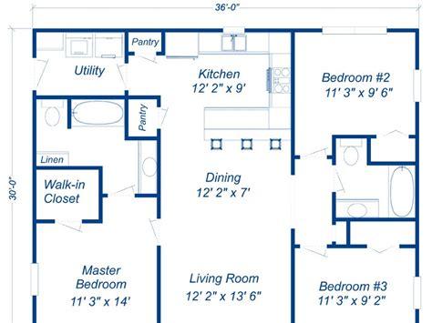30x40 metal building house plans Image