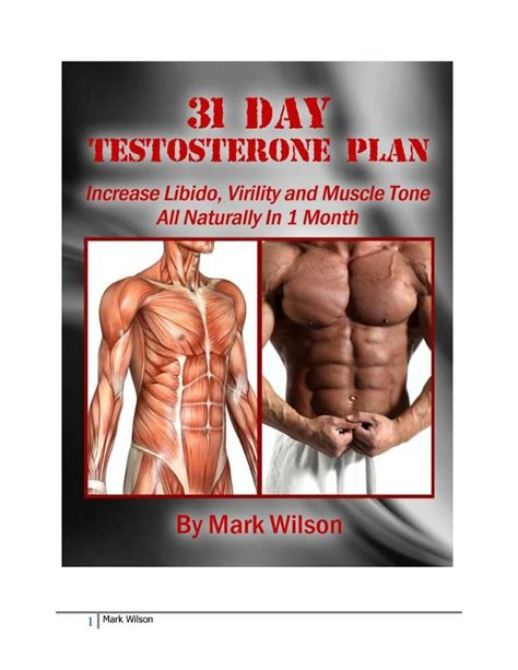 [click]31 Day Testosterone Plan