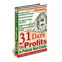 Buy 31 days to profits in probate real estate #1 rated probate course