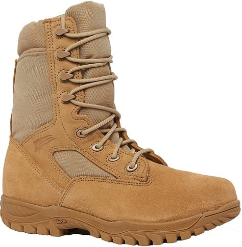 312ST Hot Weather Steel Toe Tactical Boot, AR 670-1, Desert Tan