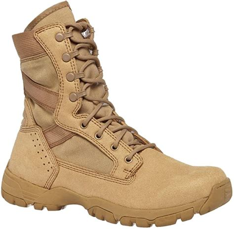 313 Tactical Research Flyweight II Desert Tan Hot Weather Boot, 6