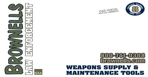 31920323 Brownells Law Enforcement Catalog Weapons Supply And Pro Match Hammer Nowlin Arms Manufacturer Professional