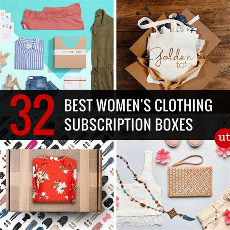 @ 32 Best Women S Clothing Subscription Boxes To Try This Month.