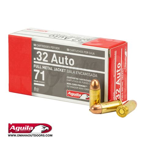 32 Acp Ammo For Sale 71 Gr Fmj Aguila Ammo Online