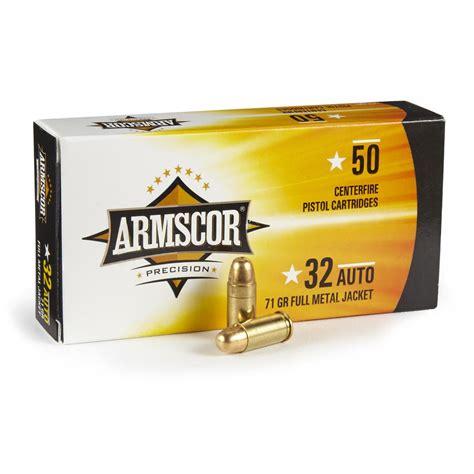 32 Caliber Handgun Ammunition