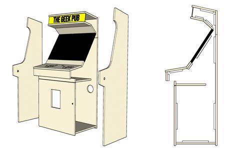 32-Inch-Tv-Arcade-Cabinet-Plans