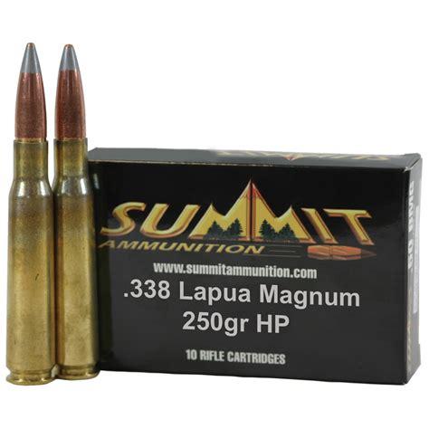 338 Caliber Rifle Ammo