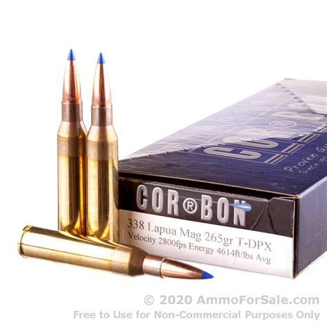 338 Lapua Ammo For Sale