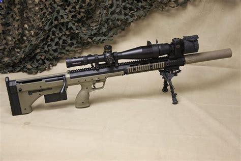 338 Lapua Bullpup Sniper Rifle
