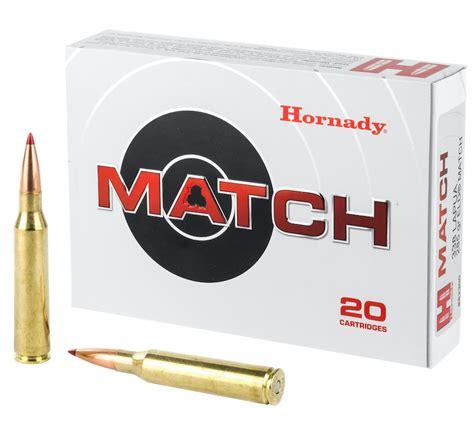 338 Lapua Hornady Match