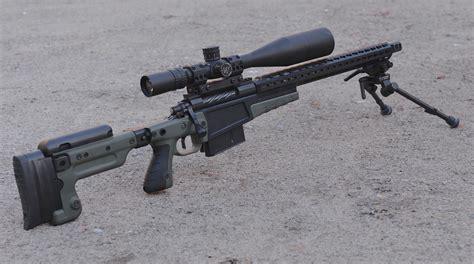 Rifle 338 Lapua Rifle.