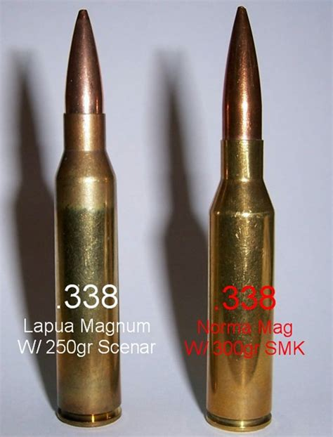 338 Norma Vs 338 Lapua Ballistics