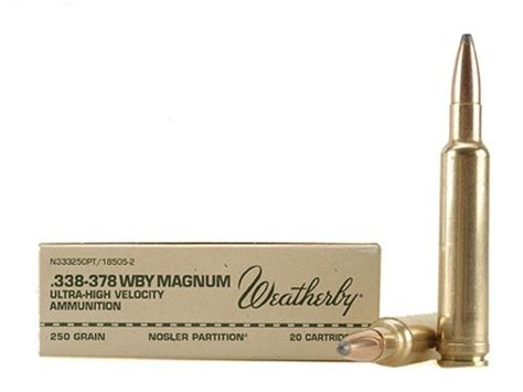 338 Weatherby Mag Ammo