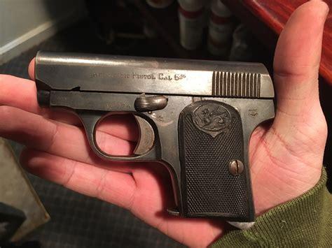 35 Caliber Pistol