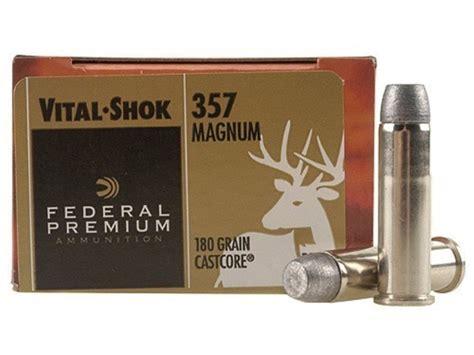 357 Magnum Deer Hunting Ammo