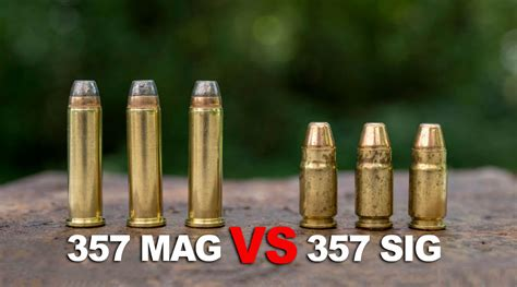 357 Remington Magnum Vs 357 Sig Sauer
