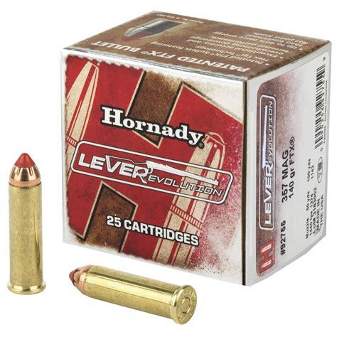 357 Rifle Ammo Hornady