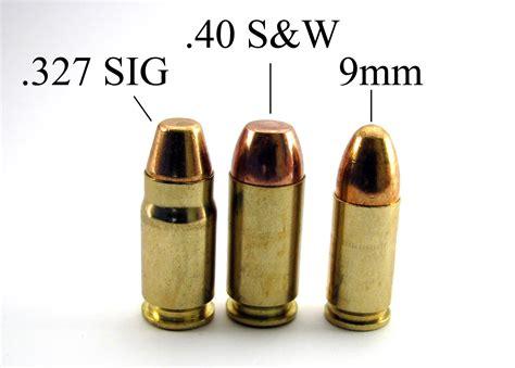 357 Sig Vs 40 S W Self Defense