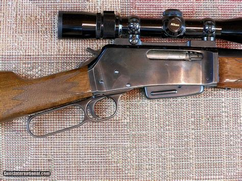 358 Winchester Lever Action Rifle