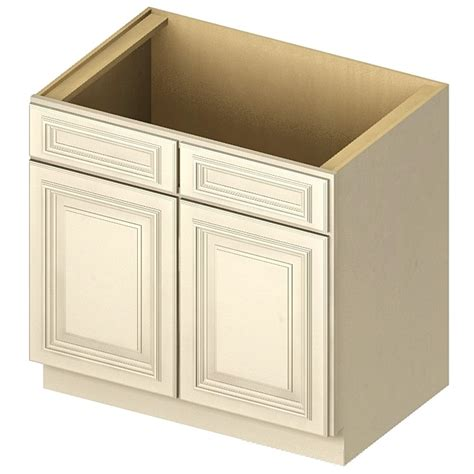 36 Inch Kitchen Sink Base Cabinet White