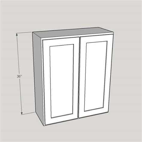 36 Wall Cabinet Height