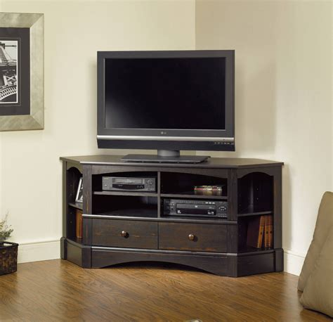 36 Wood Corner Tv Stands For Flat Screens