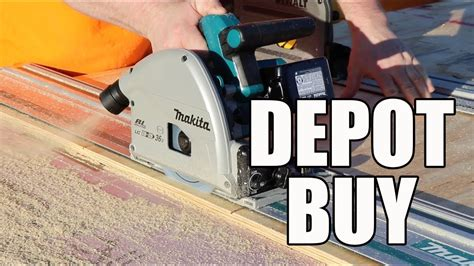 36v makita track saw available at the home depot Image