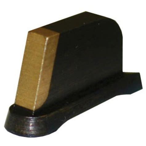 374 Patridge Front Sight Brass Gold Brownells Uk