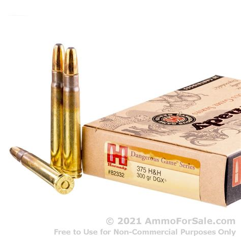 375 Ammo For Sale