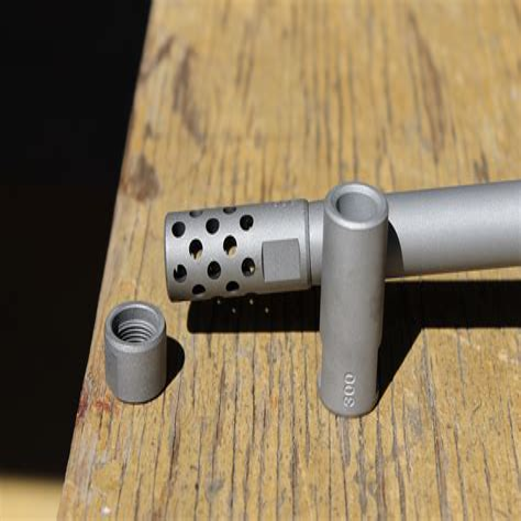 375 Rifle Barrel Muzzle Brake