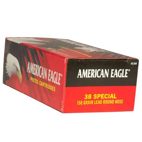 38 Special Ammo Handgun American Eagle Ammoseek Com