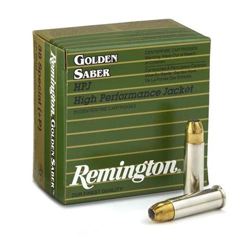 38 Special P Remington Golden Saber Ammo Gel Test