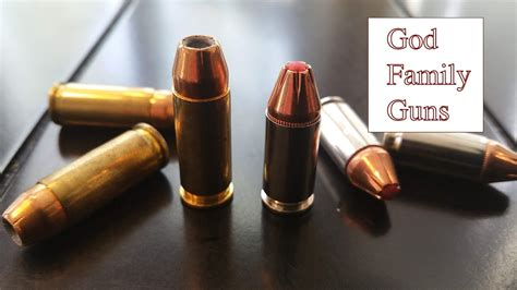 38 Vs 9mm Bullet
