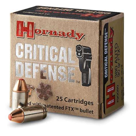 380 Acp Hornady Critical Defense Stops
