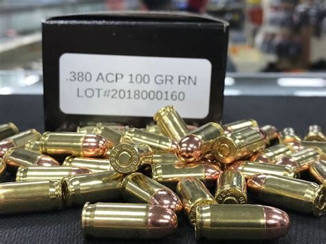 380 Ammo Reloads
