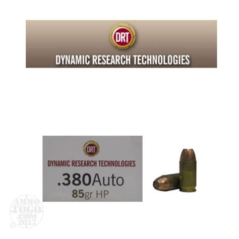 380 Auto Drt 85gr Hp Lead Free Fragmenting Ammo Ammo To Go