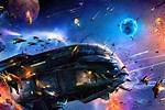3D Space Battles