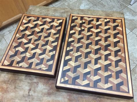 3d Cutting Board Plans January 2017