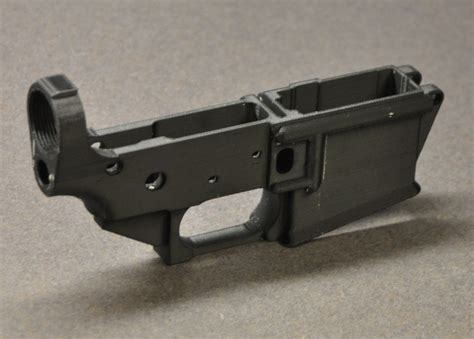 3d Print Lower Receiver Ar15 And 3d Printer Ar 15 Lower Receiver